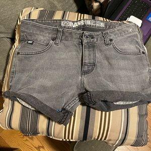 NWT VANS Denim Black shorts.  See Description